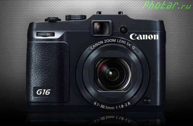 PowerShot G16 G16 подробный обзор