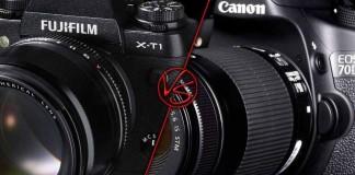 Fujifilm X-T1 vs Canon 70D