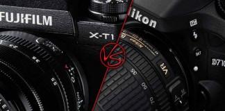 Fujifilm X-T1 vs Nikon D7100