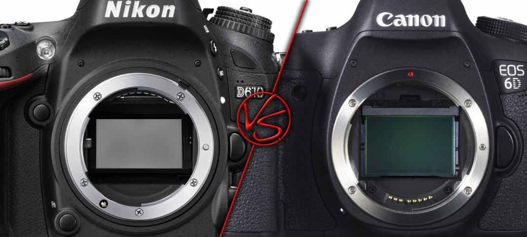 Nikon d610 vs canon eos 6d