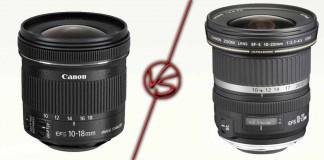 Canon EF-S 10-18мм против Canon EF-S 10-22мм