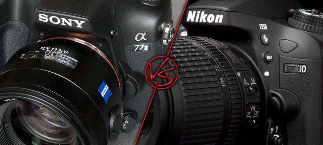 Sony A77 II vs Nikon D7100