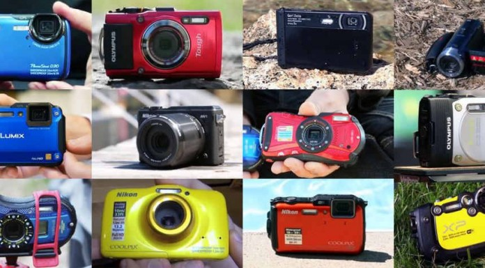 Самая лучшая водонепроницаемая камера 2014