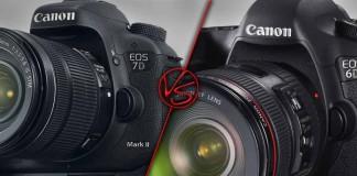 Canon EOS 7D Mark II vs Canon EOS 6D