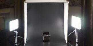 Предметная фотосъемка с LED-панелями Cullman CUlight и фотобоксом