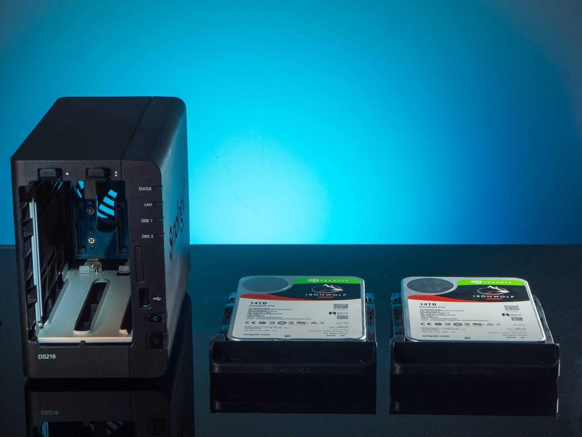 Synology DS218: обзор и настройка NAS-сервера