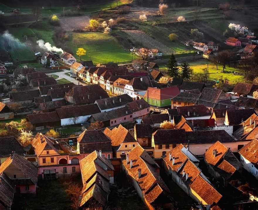 село в румынии картинки которых