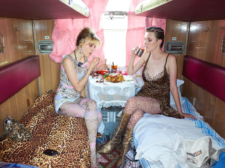 фотопроект в поезде изображение